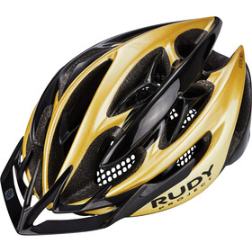 Rudy Project Sterling + Helmet gold - black shiny